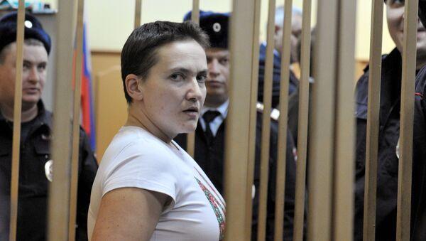Nadezhda Sávchenko, aviadora ucraniana - Sputnik Mundo