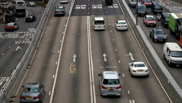 Una carretera in Hong Kong (archivo) - Sputnik Mundo