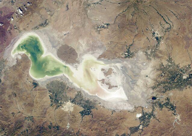 Lago Urmía (archivo)