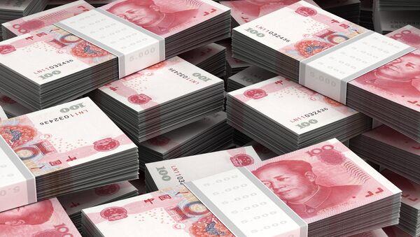 Billetes de 100 yuanes - Sputnik Mundo
