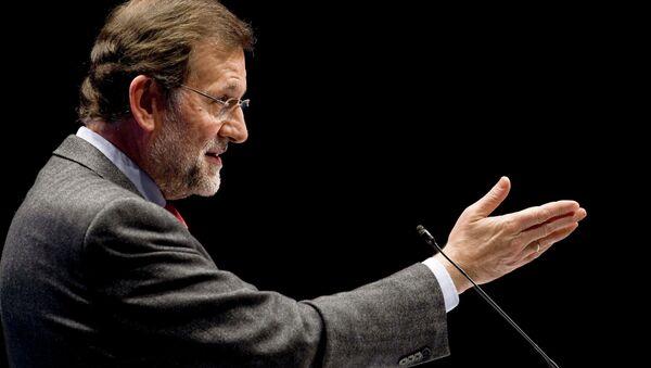 Mariano Rajoy, el presidente de España, - Sputnik Mundo