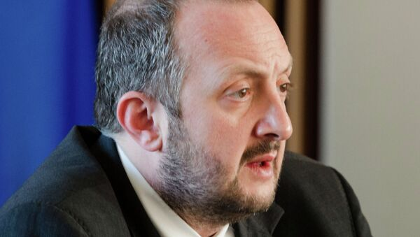 Georgui Margvelashvili, presidente de Georgia - Sputnik Mundo