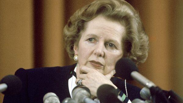 Margaret Thatcher (archivo) - Sputnik Mundo