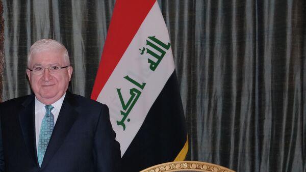Fuad Masum, presidente de Irak - Sputnik Mundo