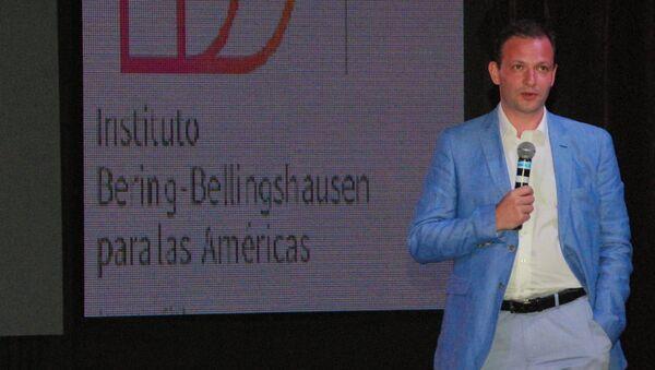 Sergey Brilev, organizador de la proyección - Sputnik Mundo