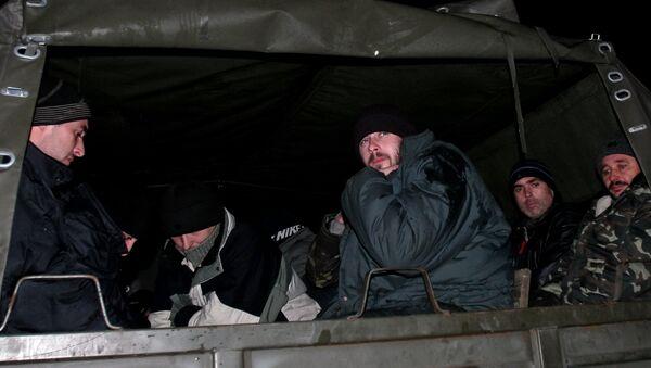 Prisioneros ucranianos - Sputnik Mundo