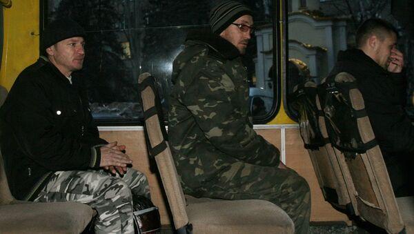 Canje de rehenes en la República Popular de Donetsk (archivo) - Sputnik Mundo