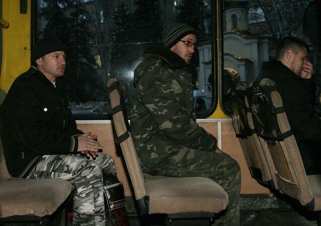 Canje de rehenes en la República Popular de Donetsk (archivo)
