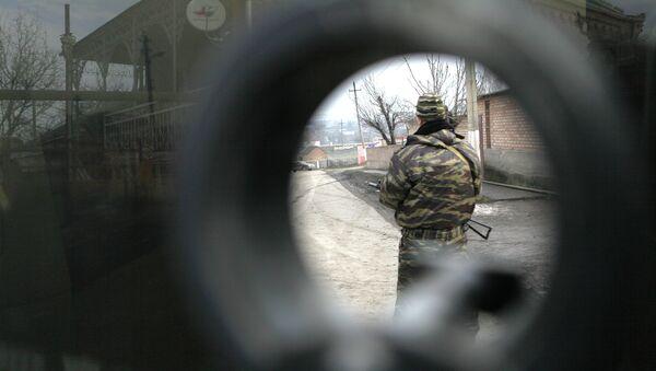 Fuerzas de seguridad en Ingusetia - Sputnik Mundo