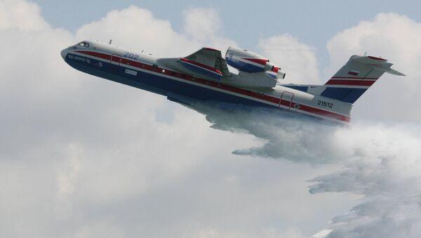 Aeronave anfibia Be-200 - Sputnik Mundo