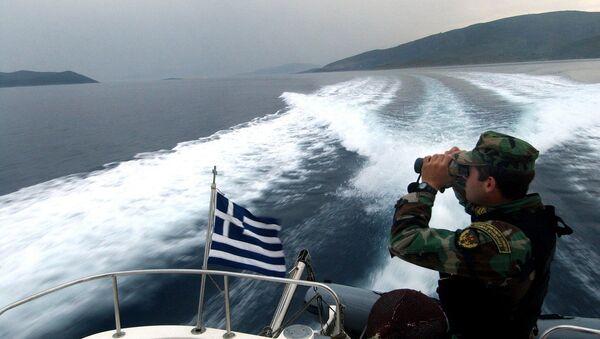 Guardacostas de Grecia - Sputnik Mundo