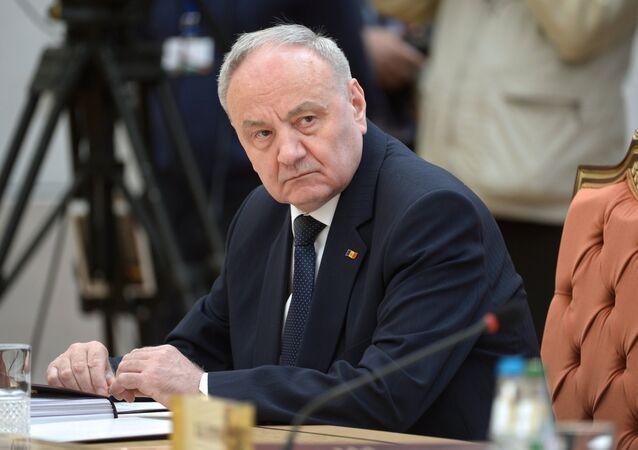 Nicolae Timofti, presidente de Moldavia