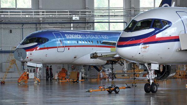 Sukhoi Superjet 100 - Sputnik Mundo