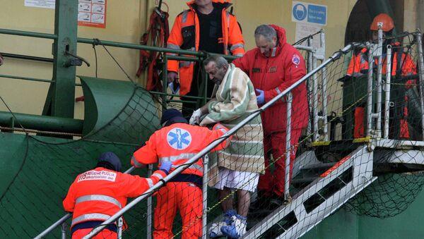 Accidente del ferry Norman Atlantic en el mar Jónico - Sputnik Mundo