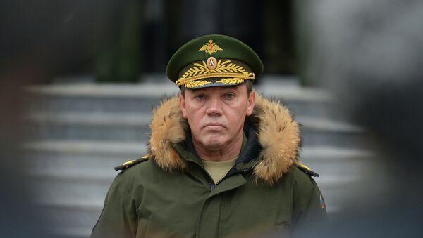 Valeri Guerásimov, jefe del Estado Mayor de Rusia - Sputnik Mundo
