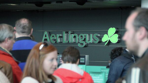 Ирландская авиакомпания Aer Lingus - Sputnik Mundo