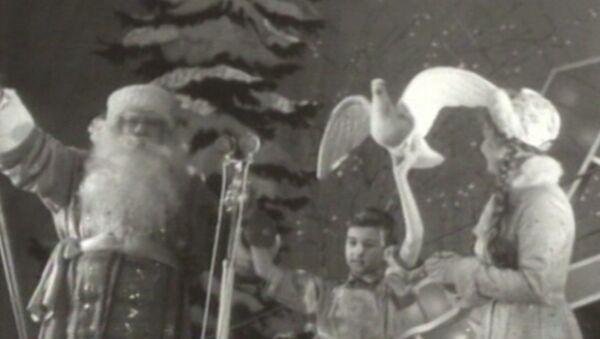 Celebración de la fiesta de Año Nuevo en tiempos de la Unión Soviética - Sputnik Mundo