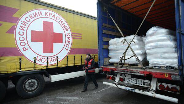 Московский Красный Крест отправил гуманитарную помощь в Луганск - Sputnik Mundo