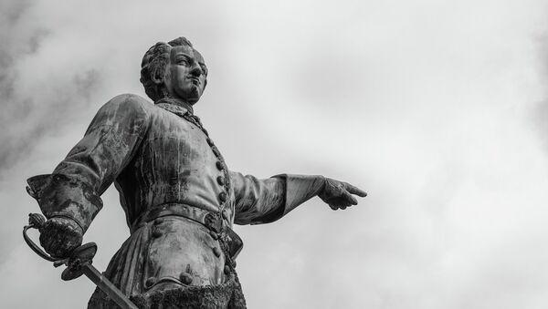 Rey sueco Carlos XII - Sputnik Mundo