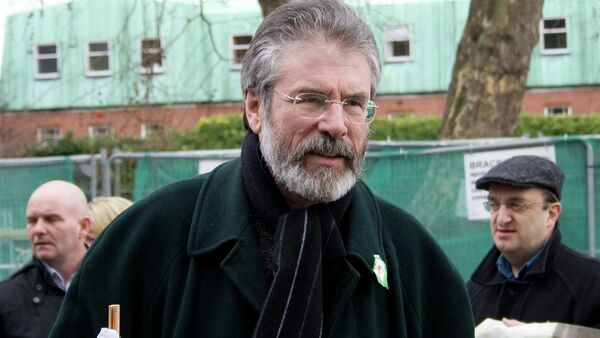 Gerry Adams, presidente de Sinn Fein - Sputnik Mundo