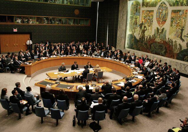 El Consejo de Seguridad de la ONU (archivo)