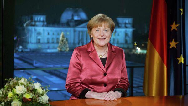 Angela Merkel - Sputnik Mundo
