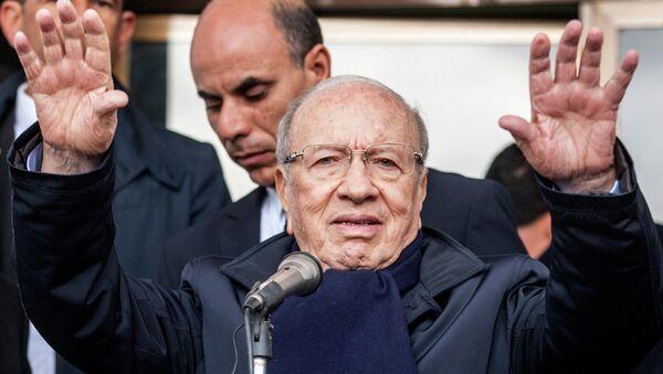 Beji Caid Essebsi, presidente electo de Túnez - Sputnik Mundo