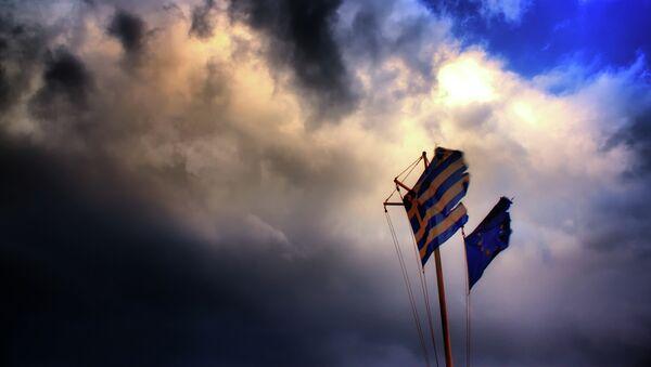 La UE no está obligada a rescatar a Grecia, según un político alemán - Sputnik Mundo