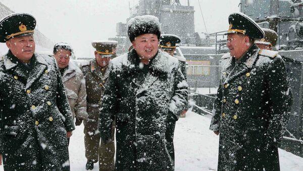 Kim Jong un, líder de Corea del Norte - Sputnik Mundo