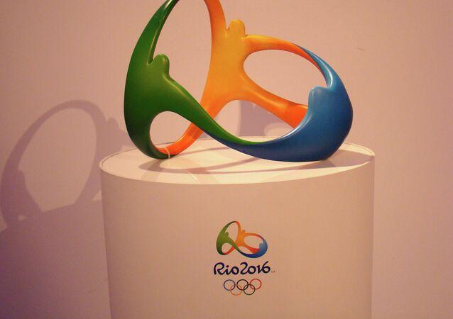 Логотип Олимпийских игр в Рио-де-Жанейро 2016