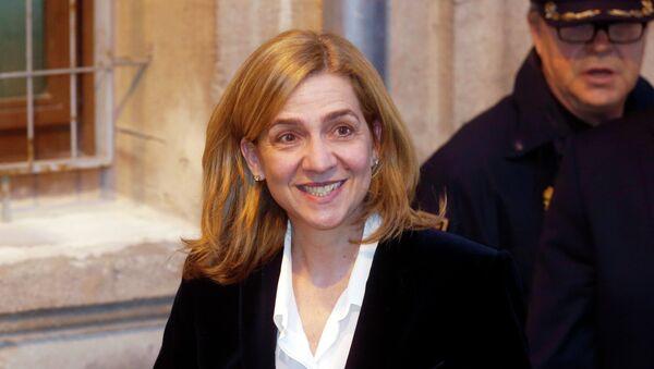 Infanta Cristina de España - Sputnik Mundo