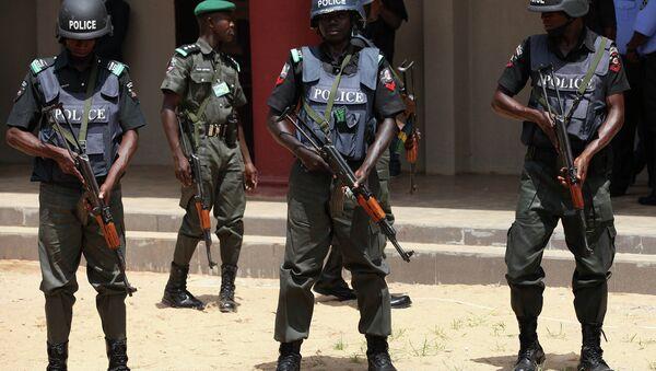 Nigeria Police Force (archivo) - Sputnik Mundo