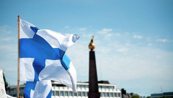 Bandera de Finlandia - Sputnik Mundo