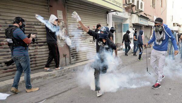 Protesta opositora en Baréin - Sputnik Mundo