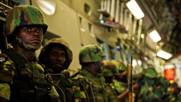 Tropas gubernamentales de Burundi (archivo) - Sputnik Mundo
