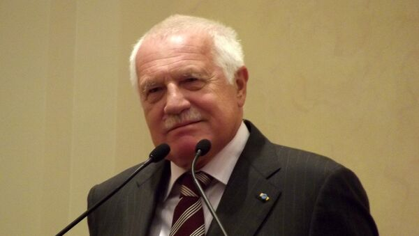 Vaclav Klaus, expresidente de la República Checa - Sputnik Mundo