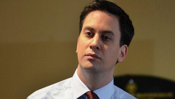 Ed Miliband, líder laborista británico - Sputnik Mundo