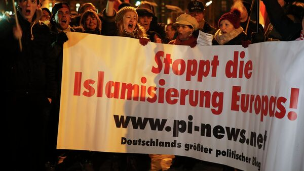 Marchas anti-islámicas en Alemania - Sputnik Mundo