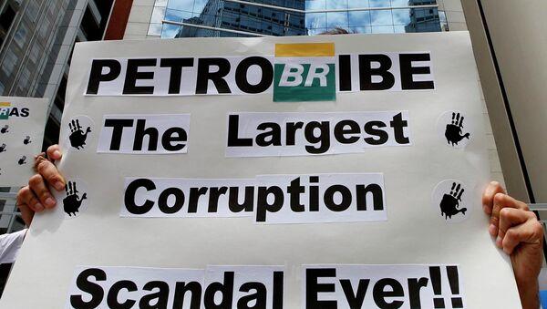 La corrupción en Petrobras generó despidos masivos de hasta 10.200 trabajadores en 2014 - Sputnik Mundo