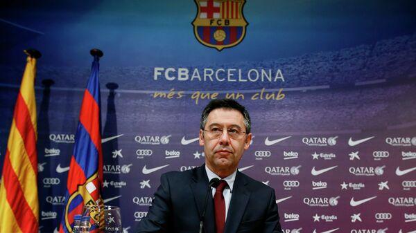 Josep Maria Bartomeu, presidente del Fútbol Club Barcelona - Sputnik Mundo