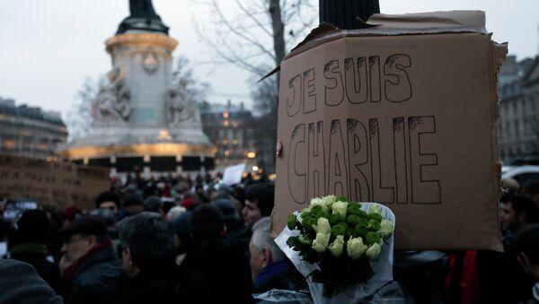 Charlie Hebdo: indignación y homenaje en las calles - Sputnik Mundo