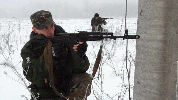 Milicianos prorrusos del este de Ucrania - Sputnik Mundo