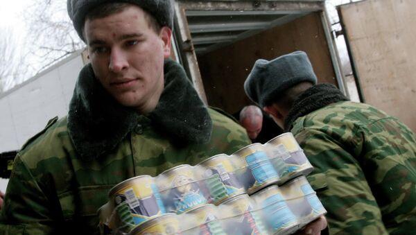 Kazajistán entrega casi $400.000 de ayuda humanitaria al este de Ucrania - Sputnik Mundo