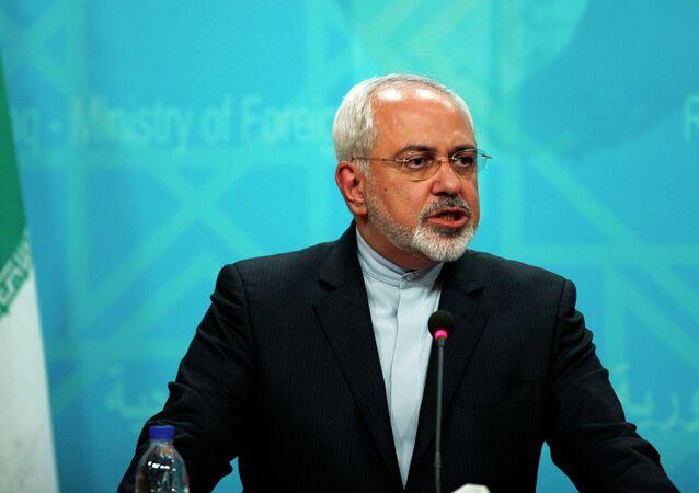 Yavad Zarif, ministro de Exteriores de Irán