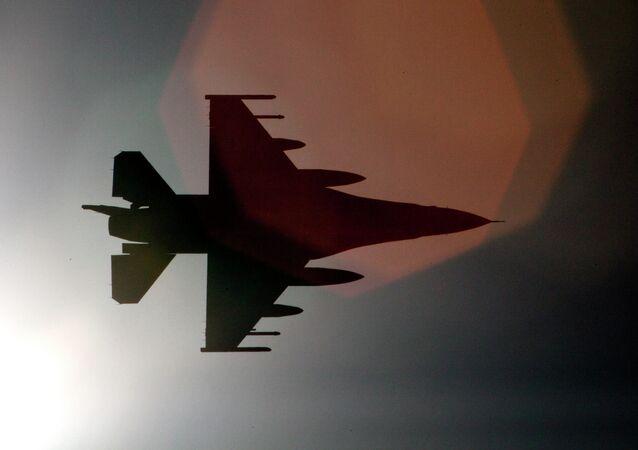 Avión F-16 (archivo)