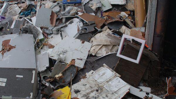 Fragmentos del Boeing 777 de Malaysia Airlines derribado en el este de Ucrania - Sputnik Mundo