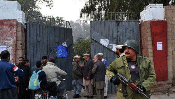 La policía de Pakistán - Sputnik Mundo