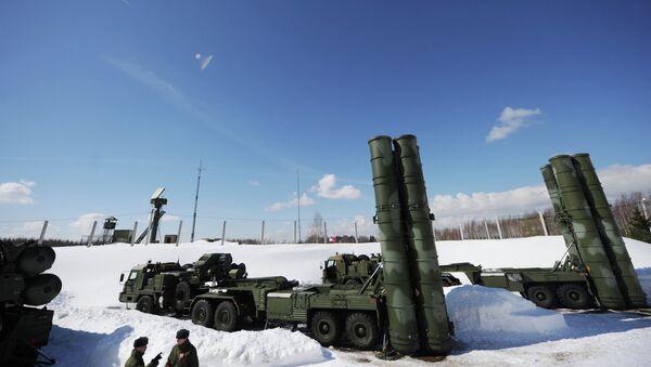 Sistema antiaéreo ruso S-400 Triumf - Sputnik Mundo