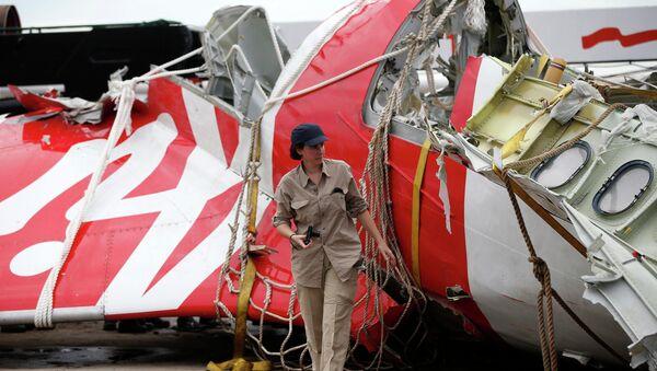 Restos del avión de AirAsia - Sputnik Mundo