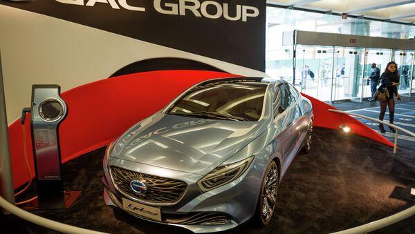 El fabricante chino de coches GAC Group estudia construir una planta en Rusia - Sputnik Mundo
